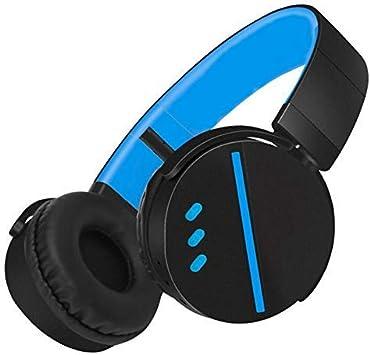 Jszzz Auriculares inalámbricos, bajo estupendo de Bluetooth de los Auriculares del inalámbrico con micrófono inalámbrico TF Auricular for Juegos, Apto for PC / PS4 / Xbox One (Color: Blanco): Amazon.es: Electrónica