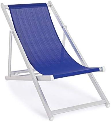 de ARREDinITALY en Lot Longues 4 Aluminium Pliantes chaises 54AcjS3qRL