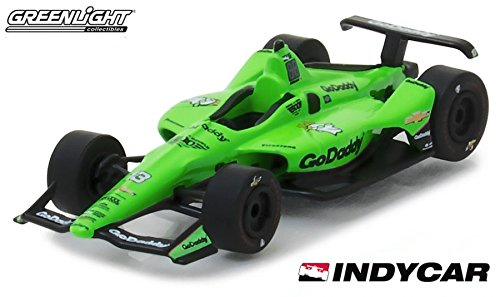 Greenlight 18023 1:64 Scale 2018 Danica Patrick #13 Go Daddy INDY 500 Car