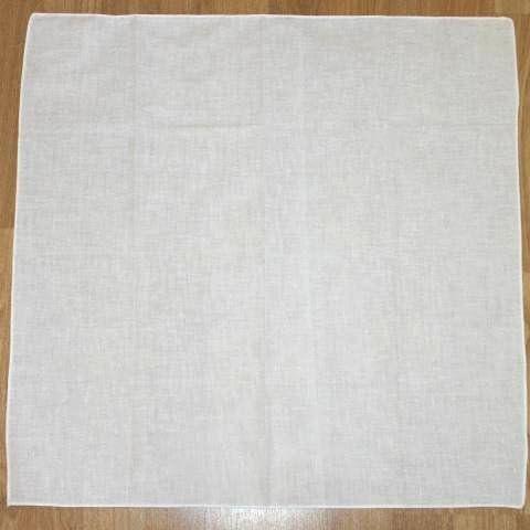 Pañuelo de cabeza, hecho de algodón blanco liso: Amazon.es: Hogar