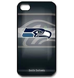 Designed iPhone 4/4s Hard Cases Seahawks team logo hjbrhga1544