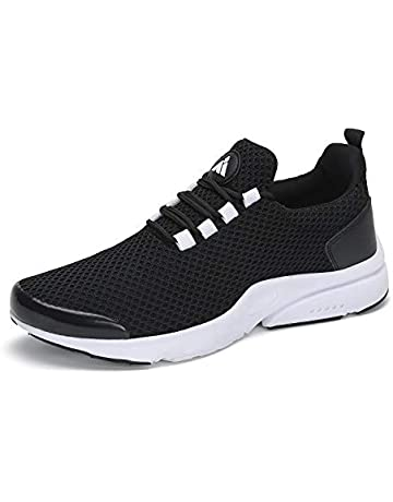 bc849367751 Mishansha Men Women Fashion Sneakers Breathable Mesh Comfortable  Lightweight Walking Shoes Slip-On Running Soft