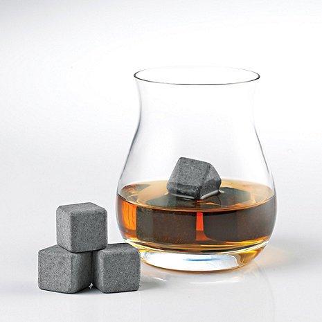 (DR) 6-pc Whiskey Stones, Ice Cube Rocks - Plaza Granite