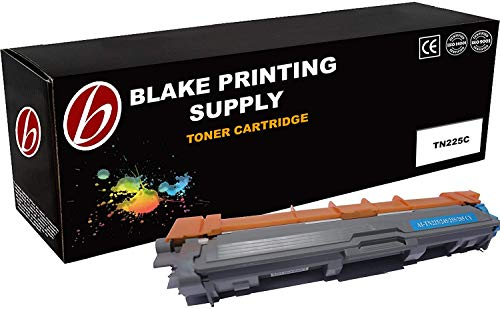 Blake Printing Supply Toner Cartridge Compatible with Brother HL-3140CW, HL-3170CDW, MFC-9130CW Color Laser Toner Cartridge Ink Cyan High Capacity