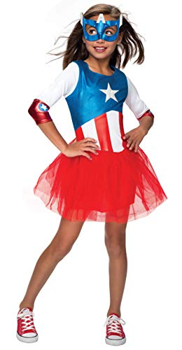 Rubie's Marvel Classic Child's American Dream Metallic Costume, Large ()
