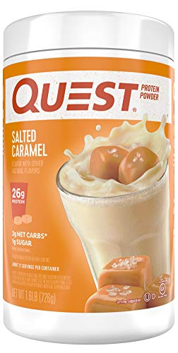Quest Nutrition Protein Powder, Salted Caramel, 1.6 Pound