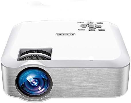 HYDDG Mini proyector, Vídeo Proyector 1080P Soportado con 3600 ...