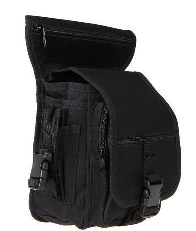 Sacoche de suisse tactique Noire, imperméable, pour randonnée, camping, chasse, sport Noir, Marron, Vert, Blanc Sacoche… 2