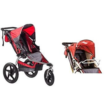 BOB Stroller Strides Single Fitness And Car Seat Adapter For Strollers