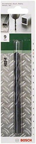 Bosch 2609255001 Set de 2 Forets /à m/étaux lamin/és HSS-R DIN 338 Longueur 40 mm Diam/ètre 1,5 mm