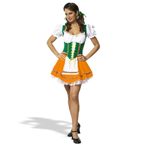 Swiss Miss Adult Costume - X-Small -