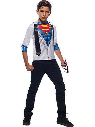 Rubie's DC Comics Photo Real Childrens Costume Top, Superman, Small for $<!--$18.02-->