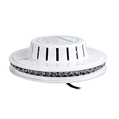 Sumger Sunflower 8W RGB 48LED Strobe Effect Stage Light With Voice Control For Family Party, KTV, DISCO, Dance Halls, Nightclubs, Bars, Ice rink, Shopping malls, Wedding, Karaoke OK, Squares, Parks, Family gatherings, etc.