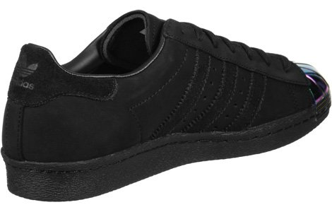 W 80s core Toe Calzado Metal adidas black Superstar 7aI1Ix
