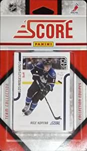 2011 / 2012 Los Angeles Kings Score Factory Sealed Team Set Including Anze Kopitar, Simon Gagne, Dustin Penner, Dustin Brown, Kyle Clifford, Mike Richards, Scott Parse, Drew Doughty, Jack Johnson, Matt Greene, Jonathan Bernier, Jonathan Quick and More!