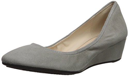Cole Haan Women's Sadie Wedge 40MM Pump, Ironstone Suede, 7