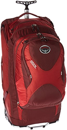 Osprey Ozone Convertible 28'/75 L Wheeled Luggage, Hoodoo Red
