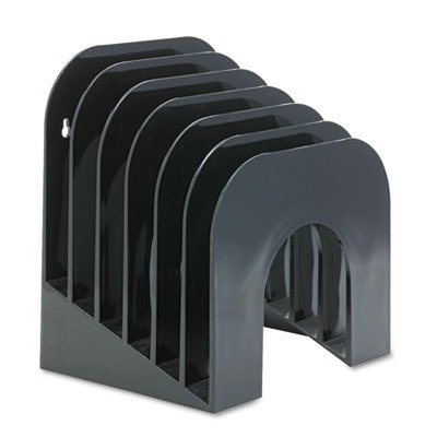 Rubbermaid Jumbo Incline Sorter , Black