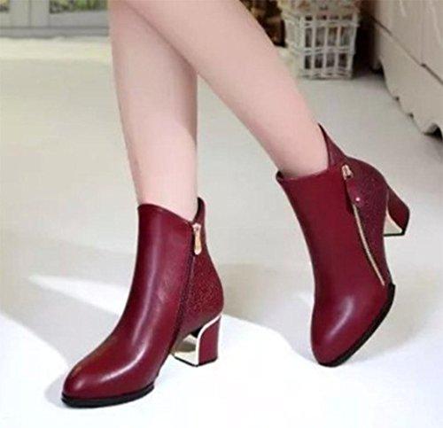 botas tac¨®n botas baratas mujeres oto KUKI botas botas las red mujeres alto de botas o de invierno grandes botas y botas botas rojas las mujeres de mujeres 6BPfqWTPY