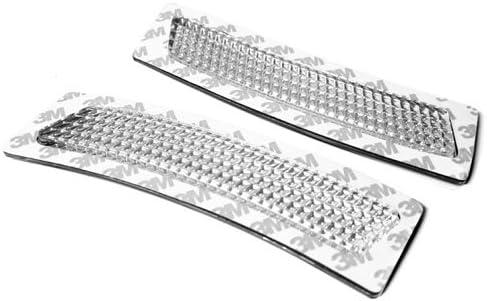 TopPick 63147295541-63147295542-C Bumper Reflector Lights FOR BMW F30 F32 F33 F36 F80 F82 F83 2014-2019 Clear/Chrome