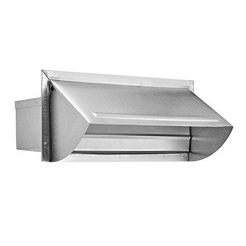Lambro 1060 3.25 x 10 in. Aluminum Wall Vent - Pack of 6 by Lambro Industries Inc