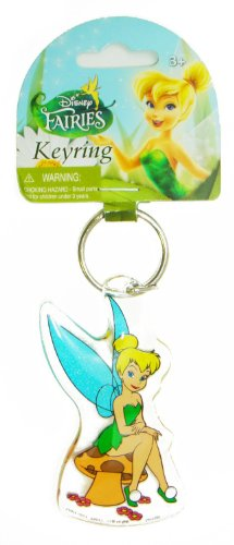 Disney Tinker Bell Lucite Key Ring