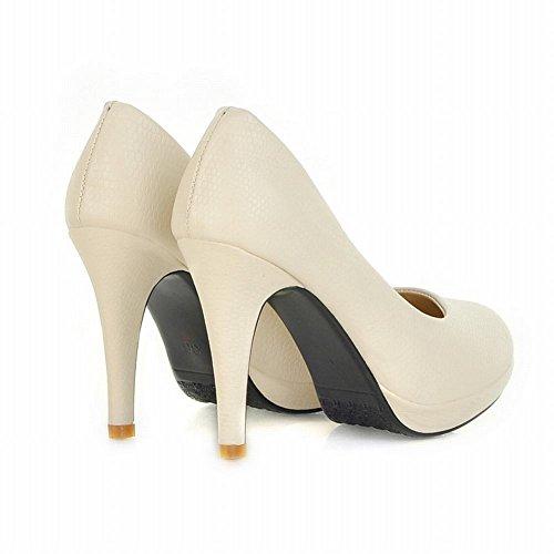 Scarpe Da Donna Con Tacchi Alti E Tacco Alto In Pelle Di Pitone Con Tacco Alto