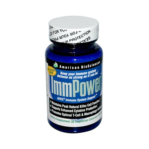 2 Packs of American Bio-sciences Immpower Ahcc - 500 Mg - 30 Capsules by American BioScience
