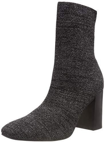 Boots Ankle Women's 105 Black Black Bianco Knit tv4Ew