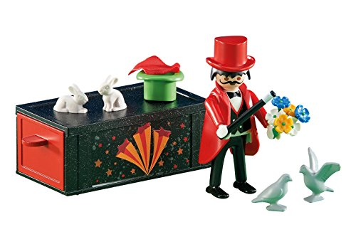Playmobil - 6515 - Magicien et Accessoires - Emballage Plastique, pas de boîte en carton