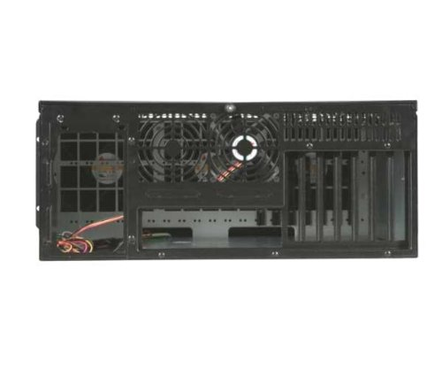 iStarUSA D-400L-7SE 4U High Performance Rackmount Chassis - Black (Power Supply Not Included)