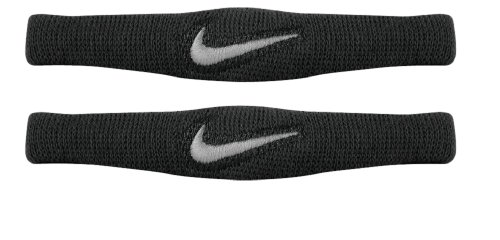 Nike Dri Fit Bands Pair (Black/White, Osfm) -