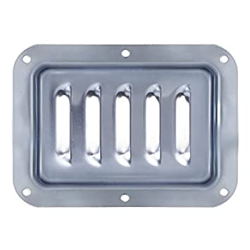 Buy Penn Elcom Zinc Vertical Louvre Dish For Case Cabinet 7 X 5 D0536z Online At Low Prices In India Amazon In