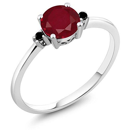 Diamond Accent 3 Stone Ring - 5