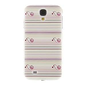 Conseguir Las aves que llevan flores patrón cubierta protectora del caso duro plástico para el Samsung Galaxy S4 i9500