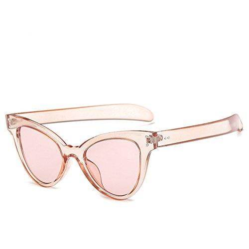 New fashion nailed cat eye sunglasses fashion ladies high-en