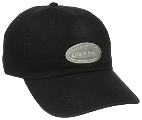 Life is good Chill Cap Lig Oval Hat, Night Black, One Size