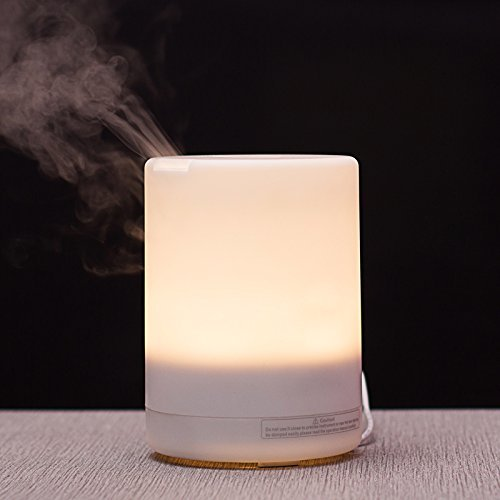 Signstek Home Aroma Luftbefeuchter Ultraschall LED Purifier Diffusor Diffuser (300ML)