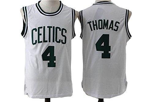 Boston Celtics Isaiah Thomas #4 Mens White New Jersey XL