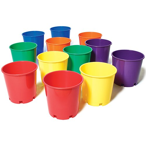 US Games Color My Class Buckets (12-Pack)