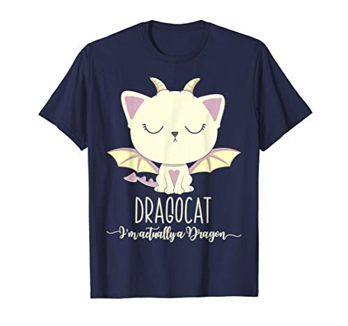 (Dragon Cat Shirt Cute Kitten Lover Tee Japanese Monster)
