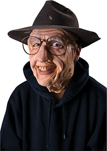 Up Grandpa Costume - Latex Old Man Gramps Grandpa Mask Costume Pre-painted Appliance Prosthetic Makeup
