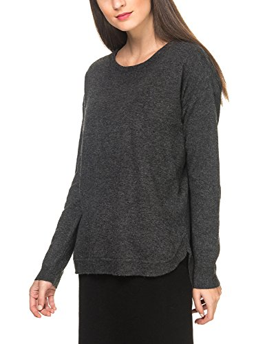 B.Young Women's Moco Women's Dark Grey Melange Pullover in Size L Grey by Byoung