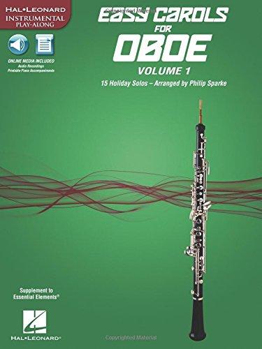 Easy Carols for Oboe, Vol. 1: 15 Holiday Solos (Hal Leonard Instrumental (Sam Ash Oboe)