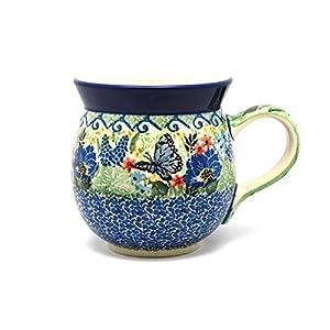 Polish Pottery Mug – 15 oz. Bubble – Unikat Signature U4600
