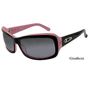 DIVINE Eyewear Women Sunglasses (CRUSH , brown pink striped / Gradient, one color)