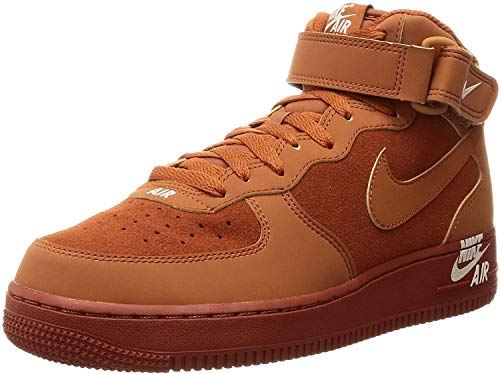 Nike Air Force 1 Mid '07 Mens Style : 315123-207 Size : 10.5 M US (1 Force Air Brown)