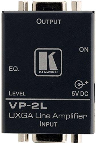 (Kramer VP-2L TOOLS 1:1 Computer Graphics Video Line Amplifier - Repeater - 15 pin HD D-Sub (HD-15) / 15 pin HD D-Sub (HD-15))