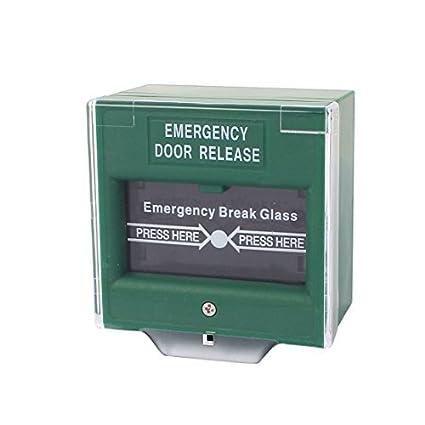 Amazon.com: eDealMax Verde cuadrado rompa el vidrio de ...
