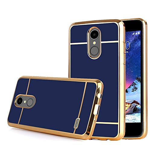 LG K30 Case, LG Xpression Plus/Premier Pro/Phoenix Plus /K10 2018 /Harmony 2, Phone Case, Electroplate Slim Glossy Finish, Drop Protection, Shiny Luxury Case - Royal Blue - Lg Xpression Cover